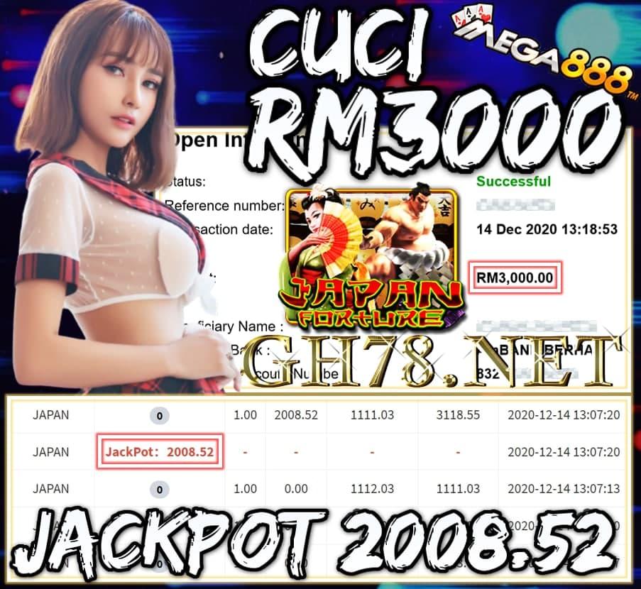 MEMBER MAIN MEGA888 CUCI RM3000 !!!