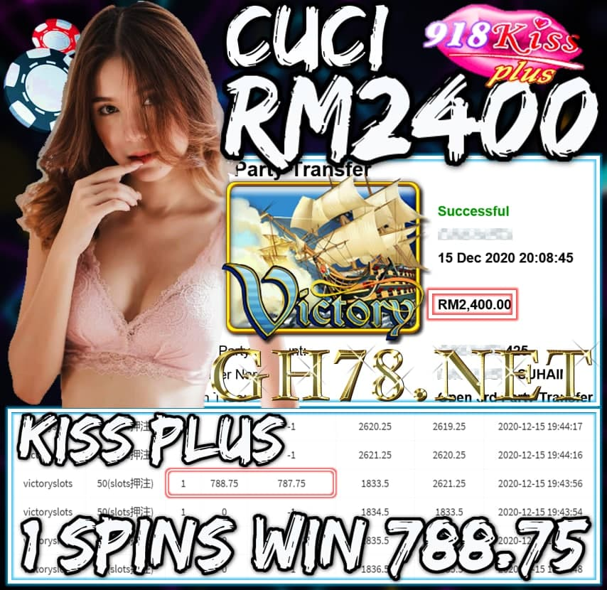 MEMBER MAIN KISS PLUS CUCI RM2400 !!!