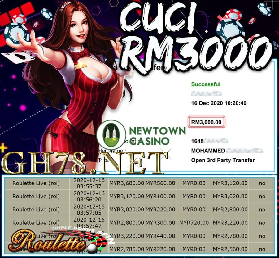 MEMBER MAIN NEWTOWN CUCI RM3000 !!!