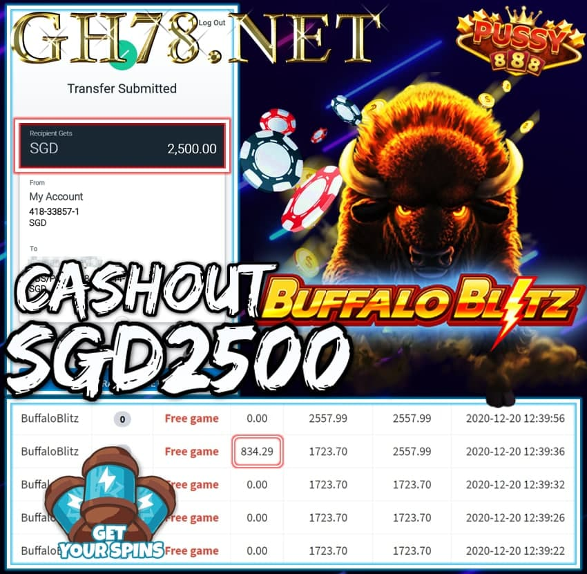 MEMBER PLAY PUSSY888 CASHOUT 2500 !!!