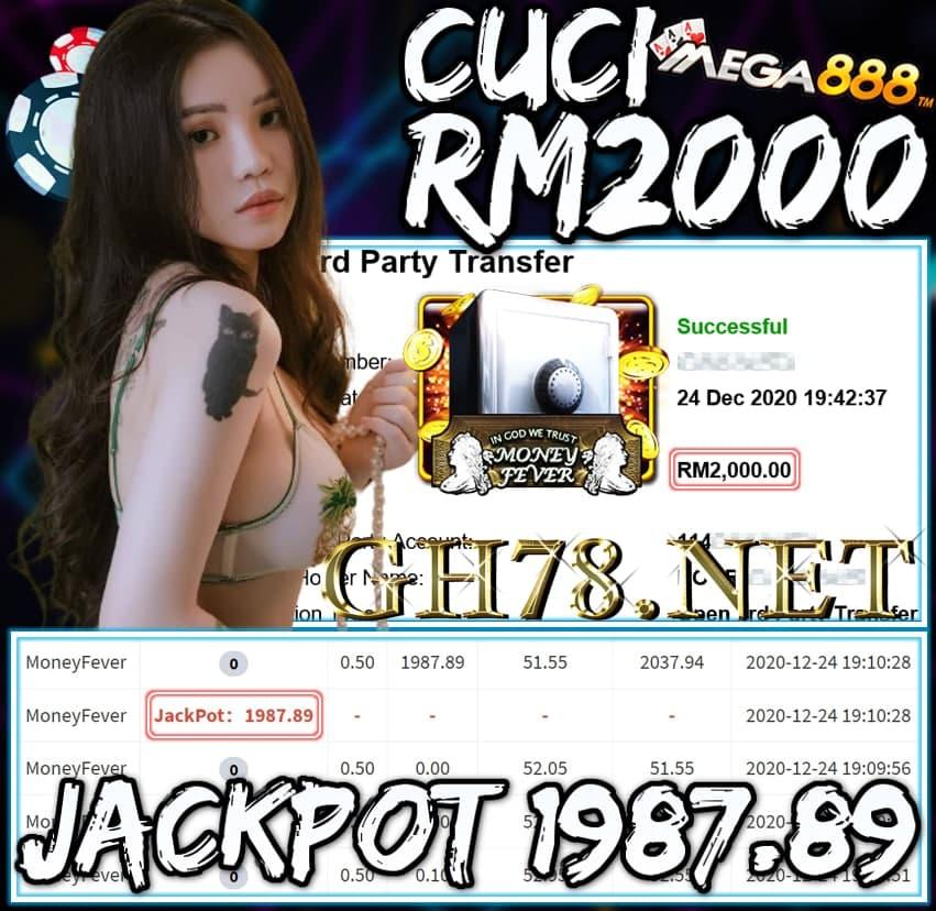 MEMBER MAIN MEGA888 CUCI RM2000 !!!