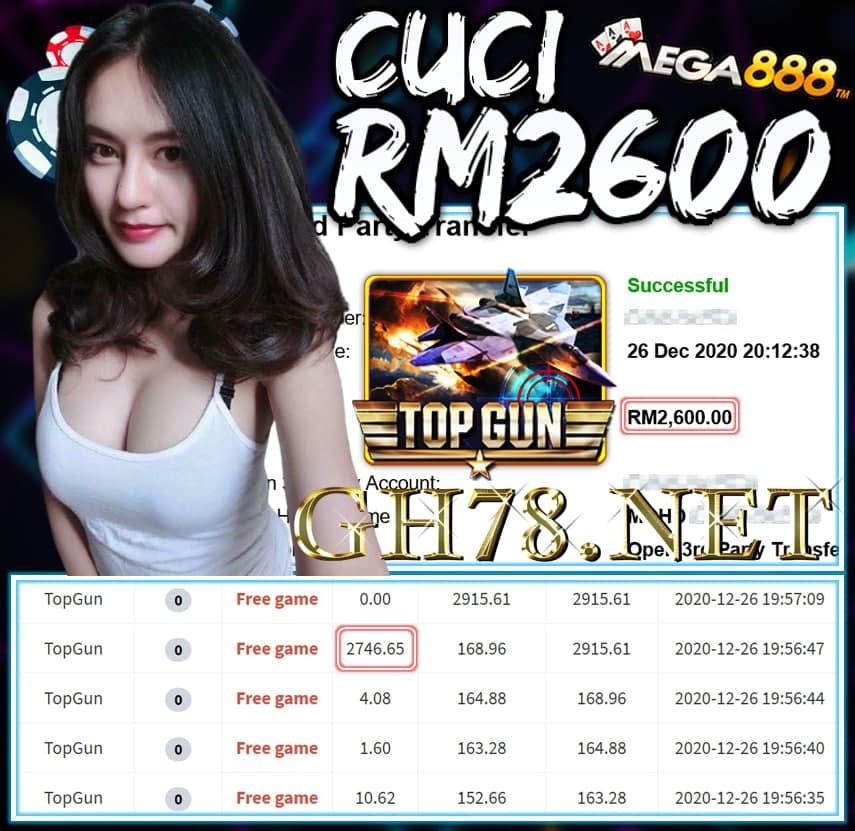 MEMBER MAIN MEGA888 CUCI RM2600 !!!