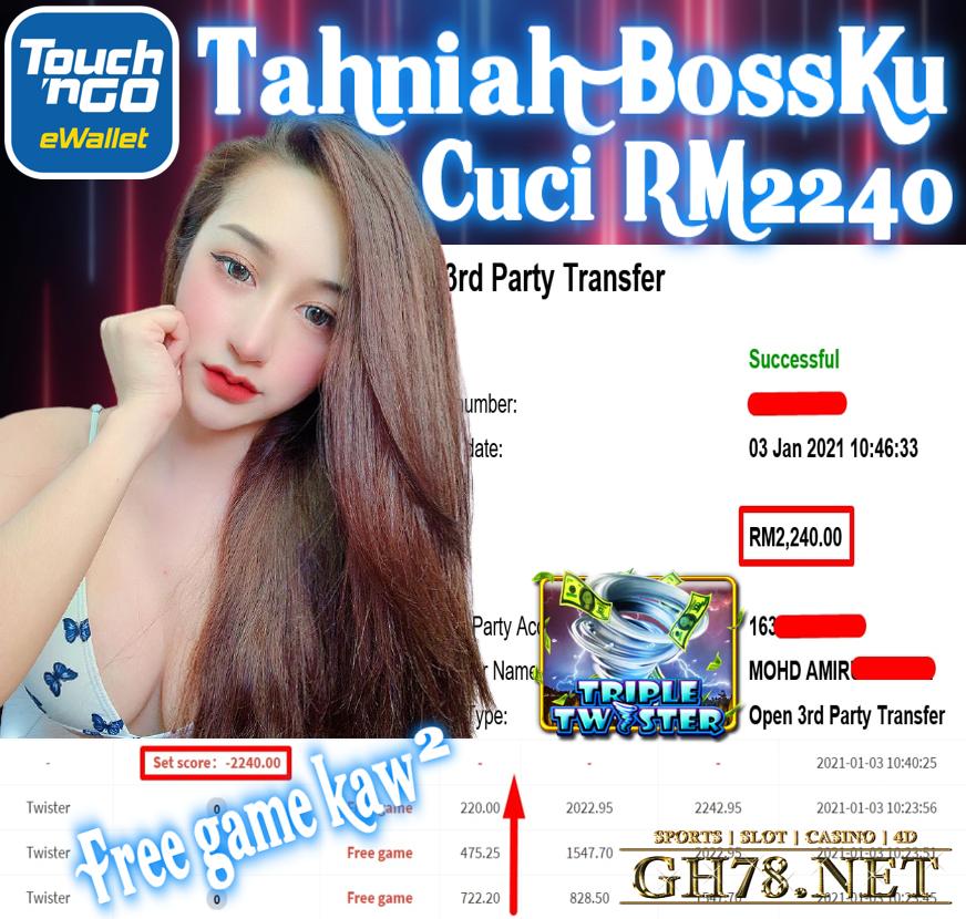 MEMBER MAIN MEGA888 CUCI RM2240