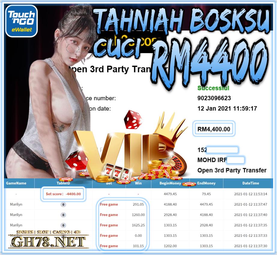 MEMBER MAIN PUSSY888 CUCI RM4400 !!!