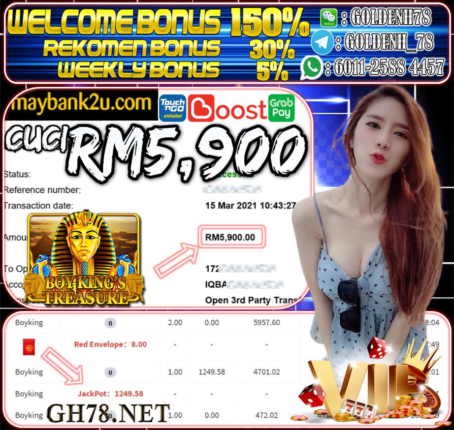 MEMBER MAIN MEGA888 CUCI RM5,900 !!