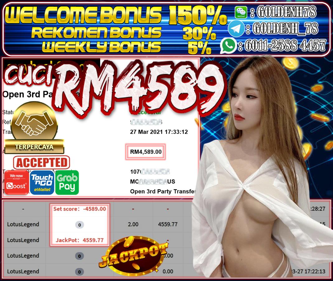 MEMBER MAIN PUSSY888 CUCI RM4,589 !!!