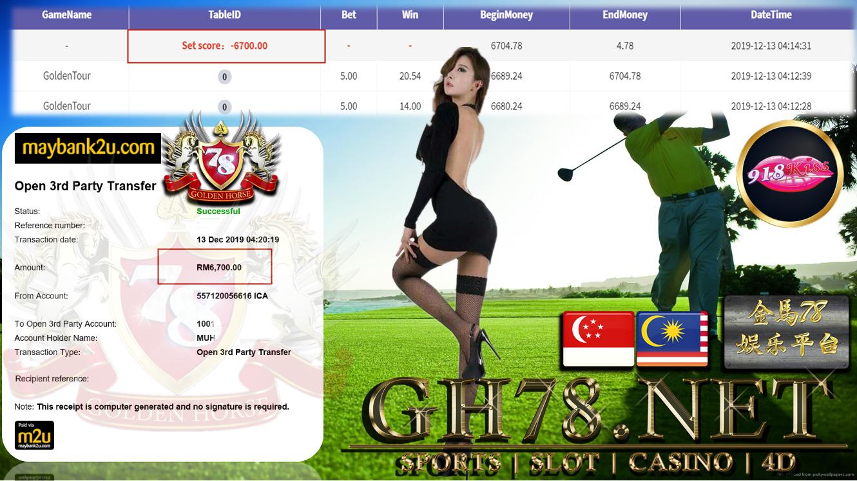 918KISS 918KISS  GOLDENTOUR CUCI RM6700 !!