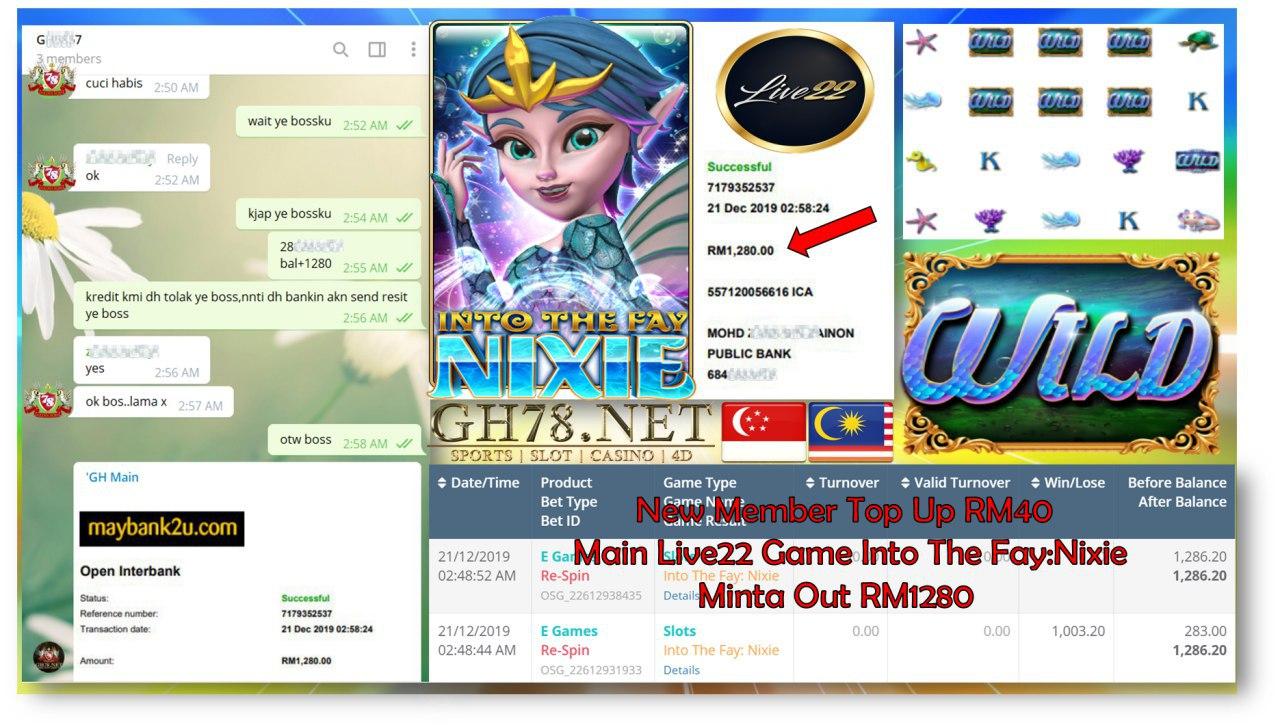 LIVE22 MAIN INTO THE FAY NIXIE MINTA CUCI RM1280!!!