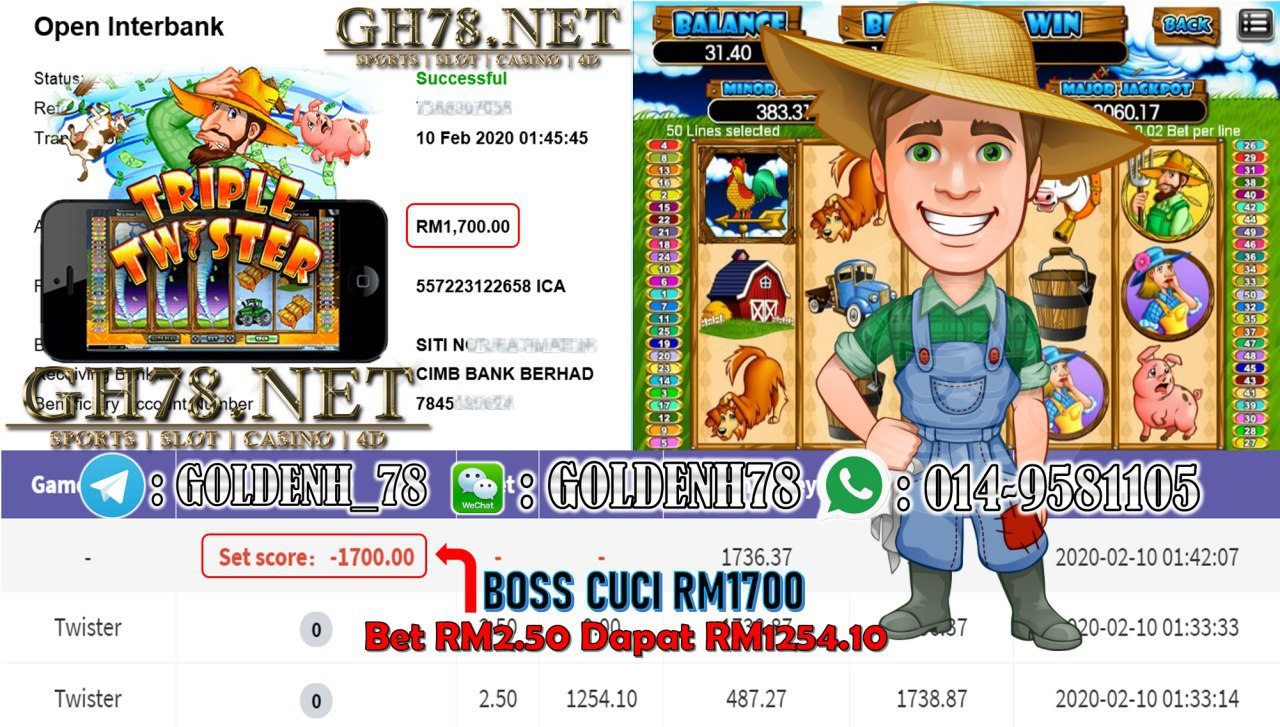 2020 NEW YEAR !!! MEMBER MAIN 918KISS, TWISTER, WITHDRAW RM1700