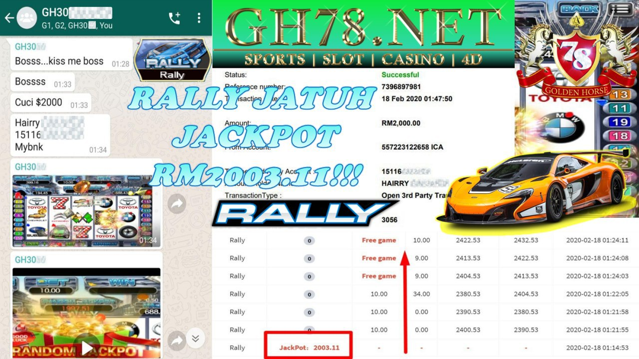 2020 NEW YEAR !!! MEMBER MAIN 918KISS, RALLY , WITHDRAW RM2000!!